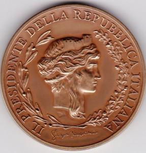 Medaglia del Presidente della Repubblica italiana