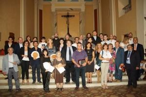 Premio Il Pozzo e l'Arancio 2013 - foto di gruppo