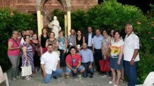 I relatori con lo staff della rassegna e rappresentanti di associazioni intervenuti